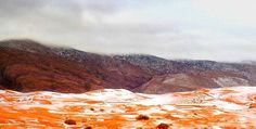 37 év után újra havazott a Szaharában - fotók – Lájk