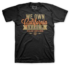 Let people know who you think OWNS California.100% cotton mens t-shirt.