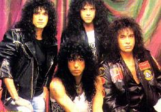 Kiss - Well, they got started in the mid-70's, but just look at 'em.  They were pretty much destined to be a hair band, weren't they?  The band poison wished they were.