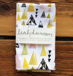 Image of Triangles Tea Towel