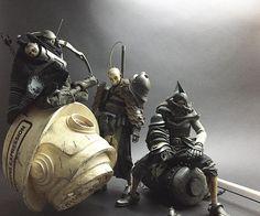 Tomorrow Kings   Death Archer, Shogun Death Mask TK and Heavy Duty Slicer Death Mask   threeA