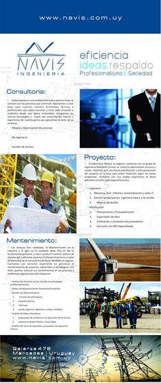 Diseño Folleto y super-Banner http://www.navis.com.uy