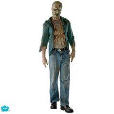 Disfraz de zombie Walking Dead para hombre