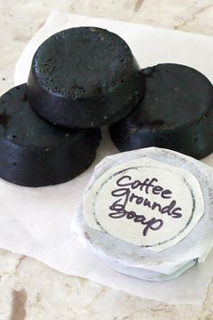 Don't toss those coffee grounds! Put them to good use, along with your stash of mini hotel bar soaps, with this easy-to-make soap that's a perfect gift for the favorite guy in your life that loves a strong cup o' joe. These soaps are seriously easy to make and exfoliate and deodorize, leaving skin nice and healthy without any froufrou scents. Don't have a stack of minisoaps hanging around? You can find four-ounce unscented bars of glycerin soap at your local grocery or craft store for around…