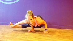 Kathryn Budig Challenge Pose: Baby Hopper II