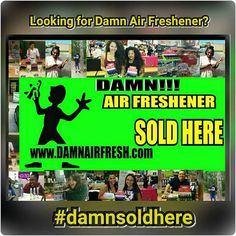 Damn Air Freshener is a refreshing burst of fragrant scents that eliminate odors on contact. Great for any space that needs a boost of freshness. 14 tantalizing scents to choose that are guaranteed to not only eliminate odors, but put a smile on your face too! Try us today to see why everyone is loving Damn Air Freshener, Your Premium Choice.