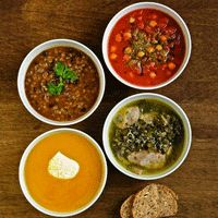 Healthy soups for runners