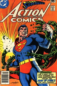 Classic Neal Adams DC Superhero art