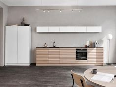 Cima Kitchen by Kvik, Give your kitchen a warm and minimalist look with Cima light oak. A kitchen in classic Danish design, developed in solid wood. Kitchen Room Design, Kitchen Collection, Light Oak, Danish Design, Kitchen Living, Solid Wood, Minimalism, Outdoor Decor, Furniture