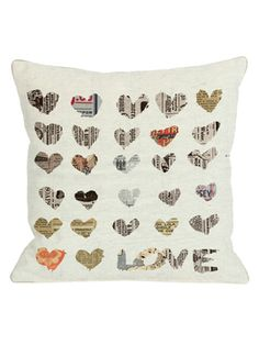 In The Paper Pillow from Throw Pillows Under $20 on Gilt