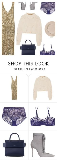 """Vintage Couture"" by amberelb ❤ liked on Polyvore featuring Isabel Marant, Eres, Givenchy, Zimmermann, Yestadt Millinery and vintage"