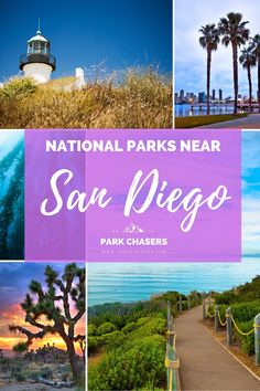 Do you know how many national parks are near San Diego? It's a good question. There are seven national park units within a drive of San Diego. Monument National Park, Monument Park, Joshua Tree National Park, Yosemite National Park, California Camping, California Dreamin', Mojave National Preserve, National Park Passport, San Diego Skyline