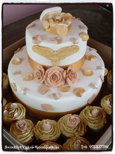 SweetArt Cakes Bloemfontein , for all your cake, cupcake and cake decor needs.  For more info email SweetArtBfn@gmail.com or call 0712127786 Sweetarts, Fondant Cupcakes, Fondant Flowers, Cupcake Toppers, Icing, Cake Decorating, Wedding Cakes, Birthday Cake, Desserts