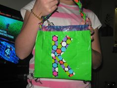 Duck Tape projects  This is a purse