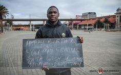 94toGram | Shepard Mhlongo by Sipho Mbatha by Ubuntu Help-Portrait, via Flickr