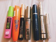My mascara collection