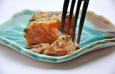 My fave salmon recipe.  2 mins to prep, 12 to 15 mins in the oven.  I do it with minced garlic, red pepper chili flakes, whole grain mustard, a little lemon, sometimes sliced almonds, a little olive oil, and salt and pepper to taste.  Mix it all in a small bowl and rub it on the salmon, bake for 12 to 15 minutes at 375 degrees.  I have sautéed spinach or avocado on the side.