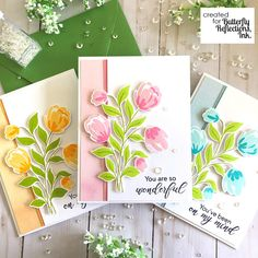 D Kirby Stamps: PinkFresh Studio Card Making Inspiration, Making Ideas, Studio Cards, Workshop, Mothers Day Cards, Card Sketches, Card Tags, Flower Cards, Diy Cards