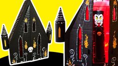 DIY Gothic House | Cardboard Craft Ideas for Kids on Box Yourself