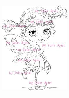 Selos digitais Digi páginas para colorir selo Digital por JuliaSpiri