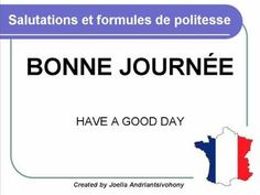French lesson 3 - Salutations (Greetings and polite words) - Saludar Cursos Clases de Frances