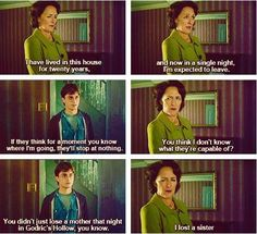 A deleted scene that I really wish they would have kept. This really was a brilliant scene in the book.