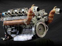 Lamborghini Marine Engine