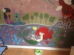 lettiebobettie: Updates, this is the other wall ... at It's A Disney Thing