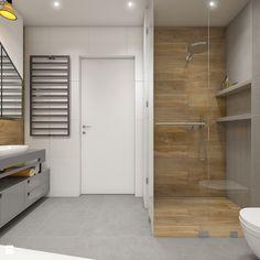 Dom pod Krakowem - przestrzeń zupełna - Średnia łazienka w bloku w domu jednorodzinnym - zdjęcie od WERDHOME