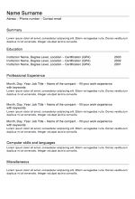Police online Free Resume templates to Download | Examples Of Resumes
