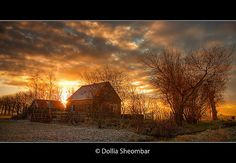 Farm House at Dawn | Explore Frontpage, Highest Position #6… | Flickr - Photo Sharing!