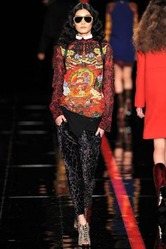Just Cavalli Fall 2013 Ready-to-Wear Collection Slideshow on Style.com