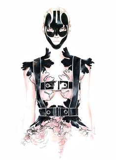Fashion illustration / Antonio Soares | imaginary roomies