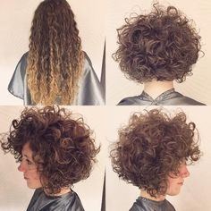 Before and After by Premier Artist David O'Shell #beforeandafter #haircut #curlyhairstyles #curlyhairrocks #afro #modernhair #bouncycurls #bob #invertedbob #bighair #bighairdontcare #messy #tousled #texture #btcpics #lovehair #envy #envyme @modernsalon @american_salon @behindthechair_com @cosmoprofbeauty