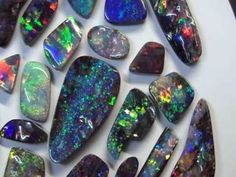 Opals, Australian Boulder/the best Opal in the world    This is just a quick preview of some nice Australian Boulder Opal, to see lots more visit , we have one of the largest ranges of solid boulder opal products anywhere.