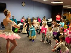 The Show Me Librarian: Thinking Outside the Book: Ballet Storytime. (How awesome would this be?)