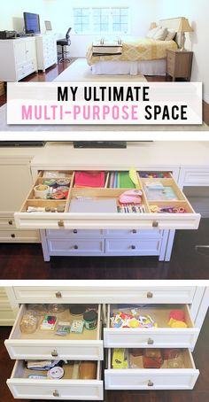 OMG - the pictures of those organizational furniture pieces are so awesome!