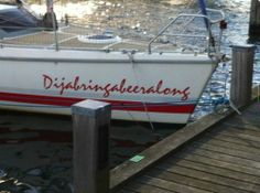 LOVE this boat name.