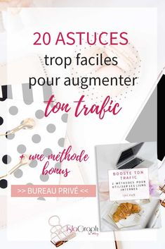 Si tu en as marre d'avoir peu de visite sur ton blog, viens découvrir 20 astuces très faciles à mettre en place pour augmenter ton trafic + une méthode bonus #blogging #traficblog #trafic #bloggingtips via @islagraphh Job Website, Business Website, Business Money, Business Tips, Facebook Marketing, Business Marketing, Entrepreneur, Seo For Beginners, Blog Sites
