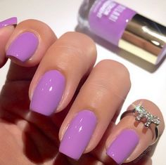 In need of a new spring nail color? We've got you covered - with the purchase of $25 on milanicosmetics.com, you'll receive one free Color Statement Nail Lacquer! Just make sure you add the nail polish of your choice to your cart before checkout. (Photo by @goldnchyld of our Imperial Purple Nail Lacquer!)