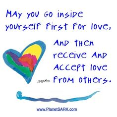 #Love is first found on the inside :-)