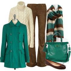 Staying Warm by pjm27 on Polyvore featuring Michael Kors, Goldsign, Banana Republic, Anya Hindmarch and Remi & Reid