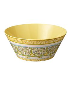 Loving this Yellow Salad Serving Bowl on #zulily! #zulilyfinds