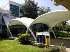 Cubierta de membrana Proyecto: Dunn Arquitectura ligera. Ubicacion: GUadalajara Jalisco Mexico.