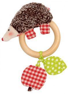 Käthe Kruse Babyspielzeug Greifling Igel Paul - Bonuspunkte sammeln, Rechnungskauf, DHL Blitzlieferung!