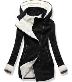 Kabát 8940 čierny