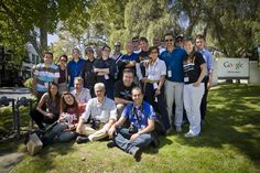 At Google, Mountain View, with Italiani di Frontiera Silicon Valley Tour 2011 group.