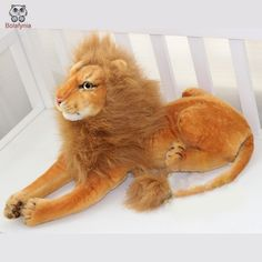 Giant Stuffed Animals, Stuffed Toy, Peluche Lion, Baby Toys, Kids Toys, Kids Packaging, Animals Information, Cute Store, Cheap Toys