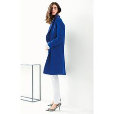Wool Shawl Collar Cocoon Coat LAURA CLEMENT | La Redoute Mobile