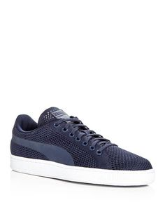 Puma Men's Basket Classic Evoknit Lace Up Sneakers